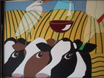Giclee Carneros Cows