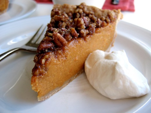 SWEET POTATO NUT PIE