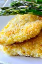 ROCK FISH WITH PANKO AND CHEESE