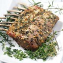 MARINATED RACK OF LAMB with CABERNET SAUVIGNON SAUCE
